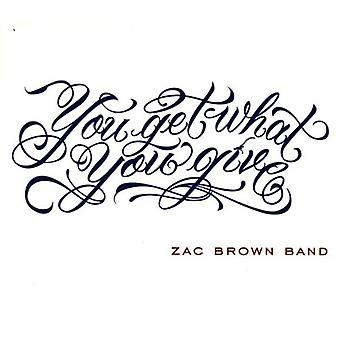 Zac Brown Band - You Get What You Give [CD] USA import