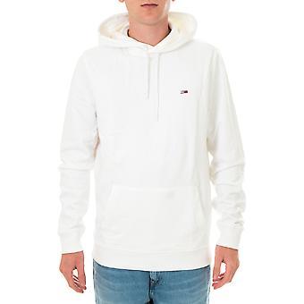 Tommy jeans tjm drapeau capot graphique sweat-shirt homme dm0dm08703.ybr