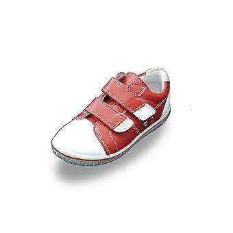 Ricosta nippy red trainer shoes