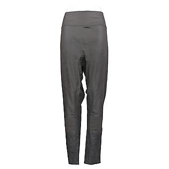 Alle waardige Hunter McGrady Leggings Faux Leather Pull On Gray A387467