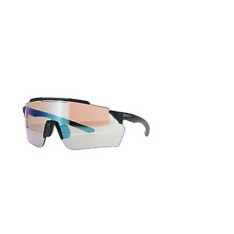 Smith Ruckus 003/G0 Matte Black/Blue Mirror Sunglasses