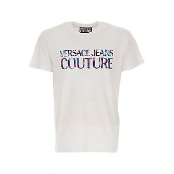 Versace Jeans Couture Cotton Long Sleeve White Shirt