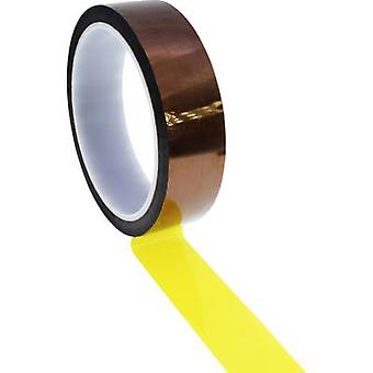 Quadrios ESD-tejp 1 st Brun, Gul (L x W) 33 m x 10 mm