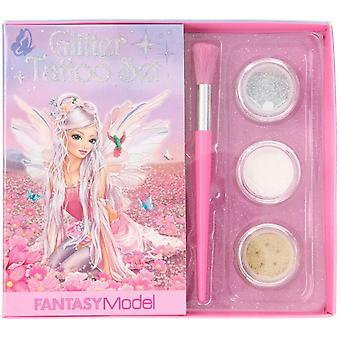 Fantasy Model Glitter Tattoo Set in Fairy Design
