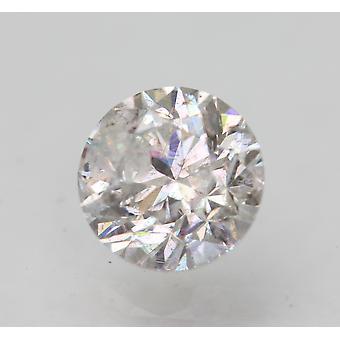 Certified 1.01 Carat G SI3 Round Brilliant Enhanced Natural Loose Diamond 6.18mm