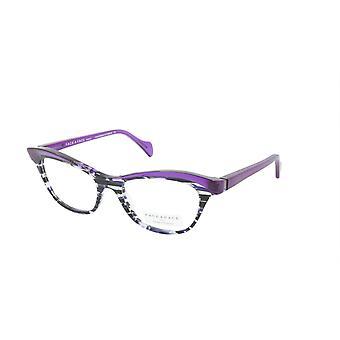 Face A Face Eyeglasses Frame GILDA 1 Col. 2014 Acetate Lines and Blue Light
