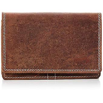 Arrigo 02C-337B, Adult Unisex Wallet, Brown (Brown (Cognac Cognac)), 3x9x12.5 cm (B x H x T)