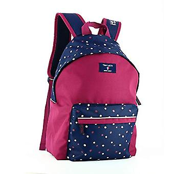 Teddy Smith Heart backpack, 1 compartment, 17 liters, L 29 x H 43 x P 14 cm, blue/red