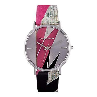 Christian Lacroix Women's Quartz Watch with Leather Strap CLFS1802