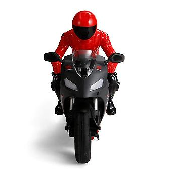 DG 801 1/6  Self Balancing RC Motorcycle 6 axis of gyroscope Stunt Racing Plastic Mini Toy(Red)