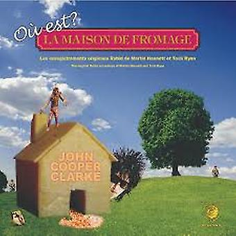 Ohn Cooper Clarke – Où Est La Maison De Fromage? Limited Edition Oranje Vinyl
