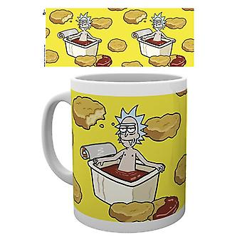 Rick e Morty McNugget salsa Mug