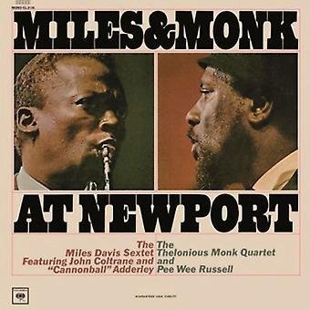 The Miles Davis Sextet & The Thelonious Monk Quartet - Miles & Monk op Newport Vinyl