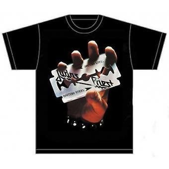 Judas Priest British Steel Mens T Shirt: Small