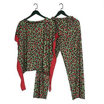 Women Dashiki T-shirt Pants Suit