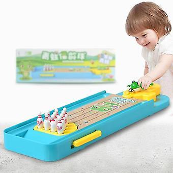 Παιδιά επιτραπέζιο παιχνίδι, μίνι βάτραχος μπόουλινγκ πλατφόρμα διαδραστικά επιτραπέζια αθλητικά παιχνίδια