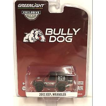 2012 Jeep Wrangler Bully Dog 1:64 Skala Greenlight 30086