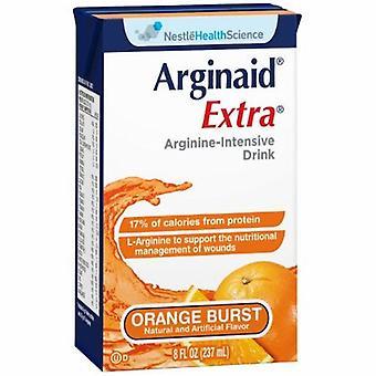 Nestle Healthcare Nutrition Arginine Supplement Orange Burst Flv 8 oz, 1 Each