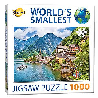 World's Smallest Jigsaw Puzzle -  Hallstatt (1000 Pieces)