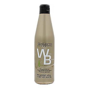 Shampoo Salerm Valkoinen Tukka (500 ml)
