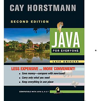 Java For Everyone  Late Objects by Cay S Horstmann