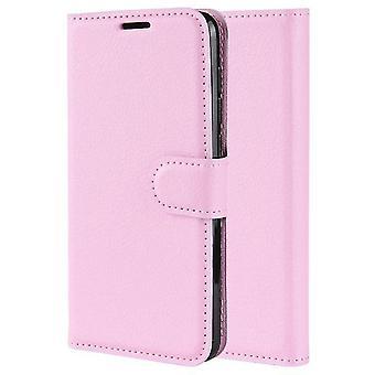 LG Q9 / LG G7 PU Wallet Case Fit - Rosa