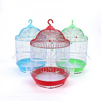 Round Cage Household Pet Parrot Bird Cage