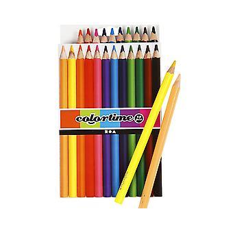 12 Lápices para colorear triangulares Jumbo de calidad ? Papelería para niños de vuelta a la escuela