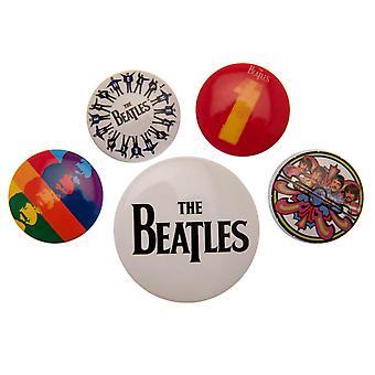 شارة زر البيتلز تعيين BK المنتج المرخص الرسمي