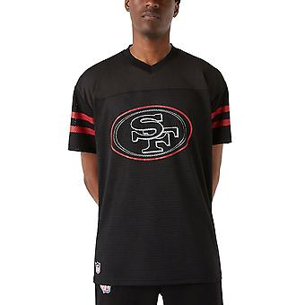 New Era Mesh Jersey Oversized Shirt - San Francisco 49ers