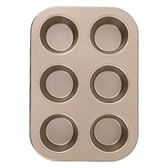 4/6/9/12 Cup Cake Mould Muffin Pan Non-stick Baking Pans Easy To Clean