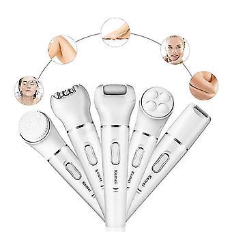 Epilators 5 in 1 electric epilator shaving hair remover women epilation