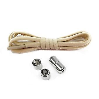 Elastic No Tie Shoelaces Metal Lock Adult