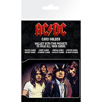 AC/DC Band Card Holder