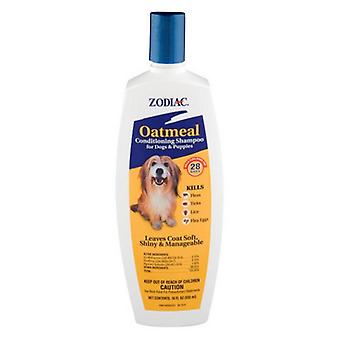 Zodiac Oatmeal Conditioning Shampoo for Dogs & Puppies - 18 oz