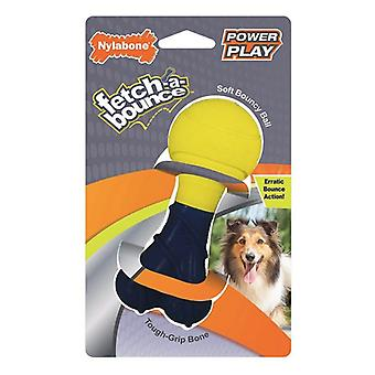 """Nylabone Power Play Fetch-a-Bounce Rubber 5"""" Dog Toy - 1 count"""