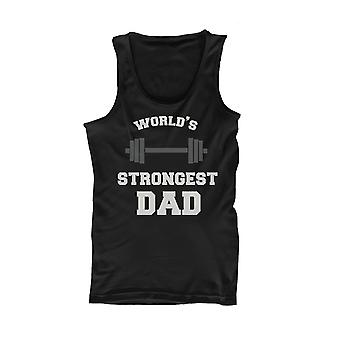 World's Strongest Dad Tank Top - Father's Day Gift Idea