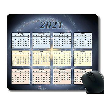 Keyboard mouse wrist rests 220x180x3 calendar 2021 seasons of different colo mouse pad aerial view of clouds in sky mouse pad