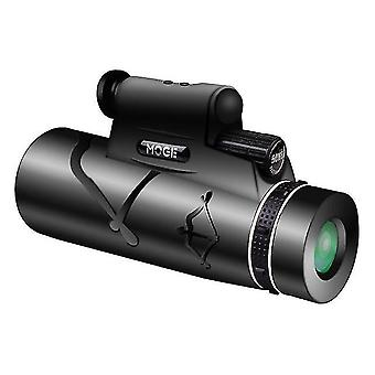 50X60 hd monokularer Zoom Nachtsichtteleskop mit Lampenbeleuchtung und Nachtlaserjagdfernrohren