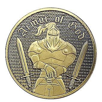 American Armor Knight Armor Warrior Verkupferte Gedenkmünze Sammlung Münze Geprägte Münze Medaille