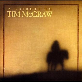Tribute to Tim McGraw - Tribute to Tim McGraw [CD] USA import