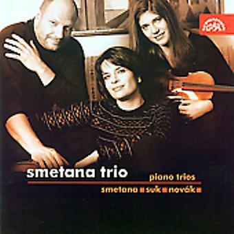 Smetana Trio - Smetana, Suk, Nov K: Piano Trios [CD] USA import