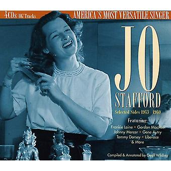 Jo Stafford - Selected Sides 1943 to 1960: Americas M [CD] USA import