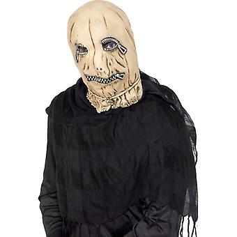 Leatherface Slave na Scarecrow zip maska halloween