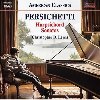Persichetti / Lewis - Persichetti: Harpsichord Sonatas [CD] USA import