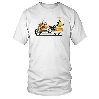 Honda Goldwing classico moto moto Bike Ladies T Shirt