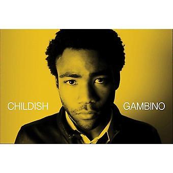 Childish Gambino Portrait Poster Poster Print
