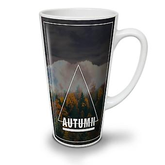 Autumn Season Art NEW White Tea Coffee Ceramic Latte Mug 12 oz | Wellcoda