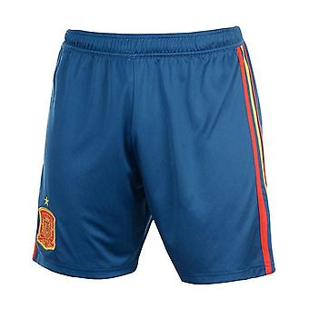 2018-2019 Spagna Home Adidas Calcio Pantaloncini (blu)