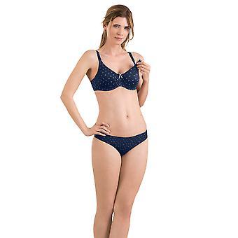 Miss maternidade Anita 5081-359 feminino Dotty sonho azul maternidade Underwired sutiã de amamentação